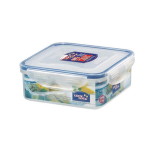 HPL823 Lock & Lock Square Food Container - 870ml