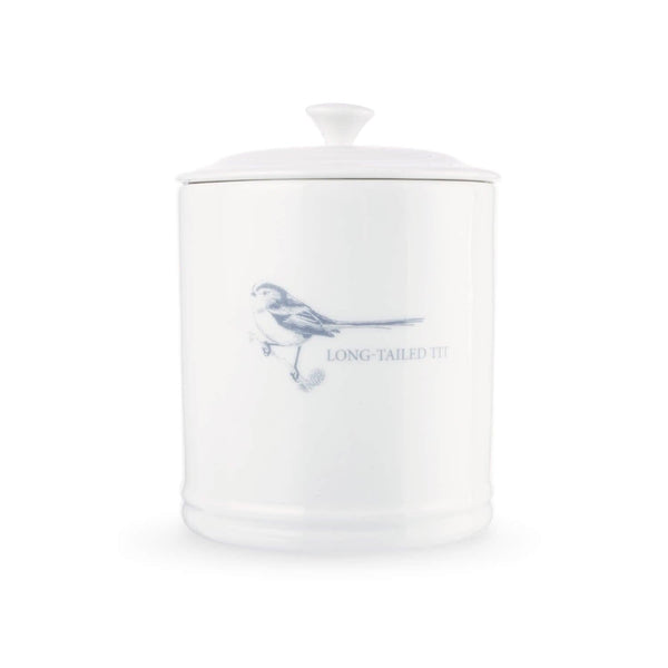 Mary Berry English Garden Coffee Canister - Long Tailed Tit