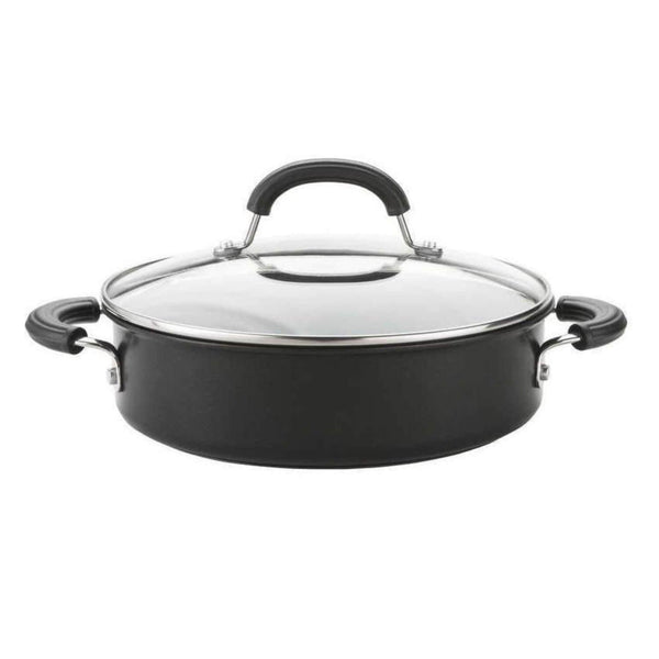 Circulon Total Hard Anodized Shallow Casserole - 24cm