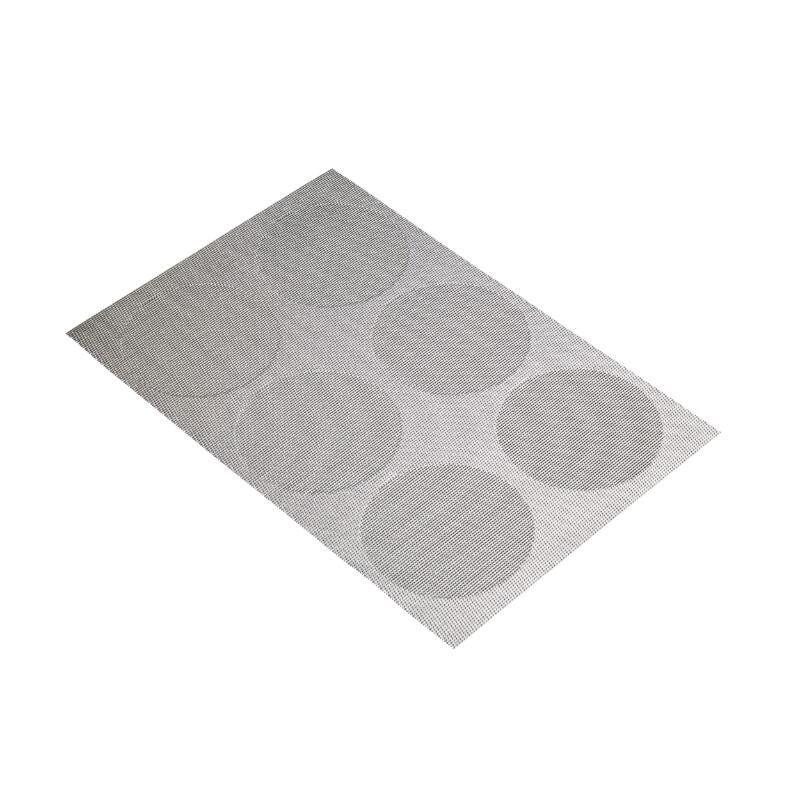 KitchenCraft Woven Placemat - Grey Spots