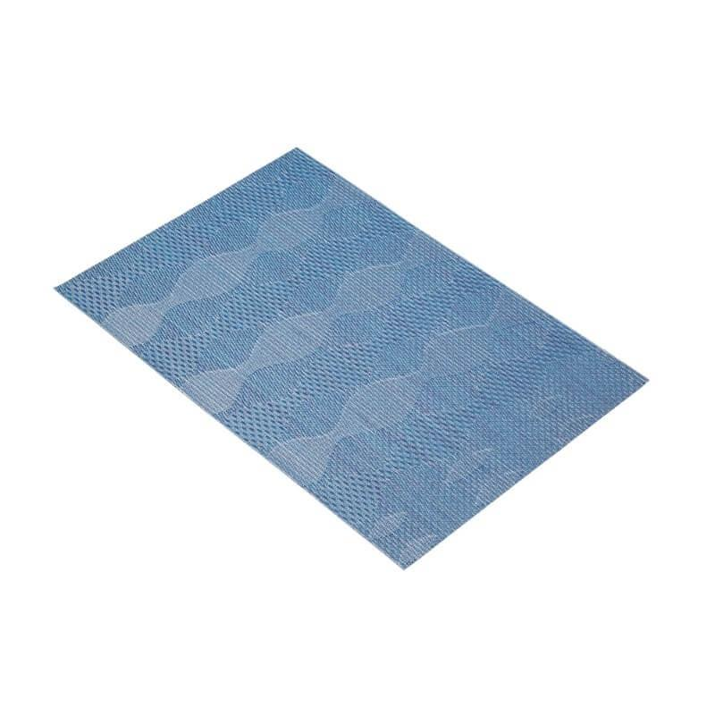 KitchenCraft Woven Placemat - Blue Wave