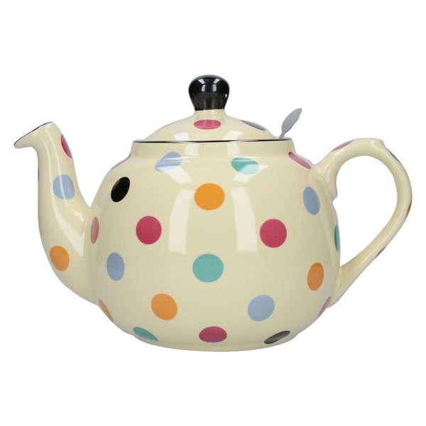 London Pottery Farmhouse 6 Cup Teapot - Multi Spot