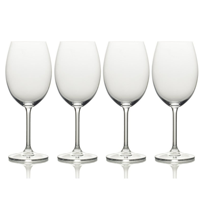 5191915 Mikasa Julie Set of 4 White Wine Glasses