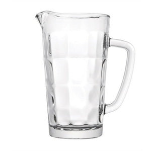 Luxe Bricks Glass Jug - 1 Litre