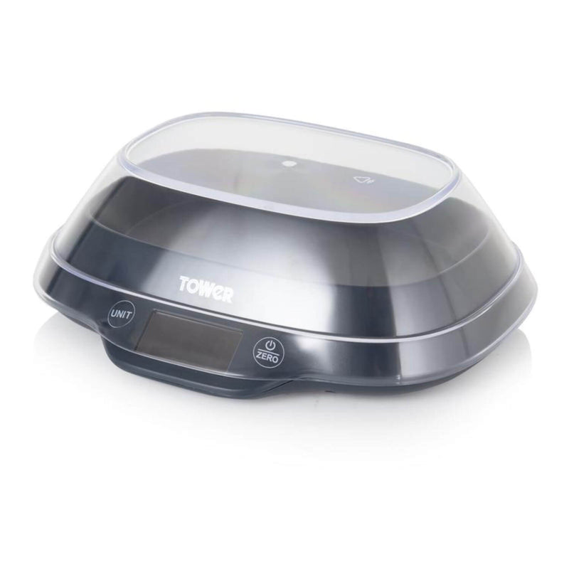Tower Electronic Kitchen Scales With Bowl - Palladium Grey