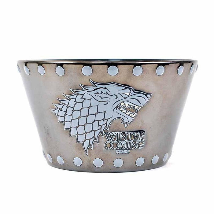BOWLGT10 Game of Thrones Stark and Stud Relief Bowl