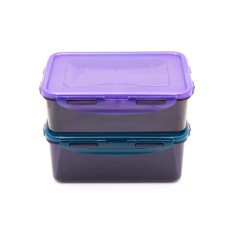 Lock & Lock Eco Rectangle Food Container Set - 2 Piece