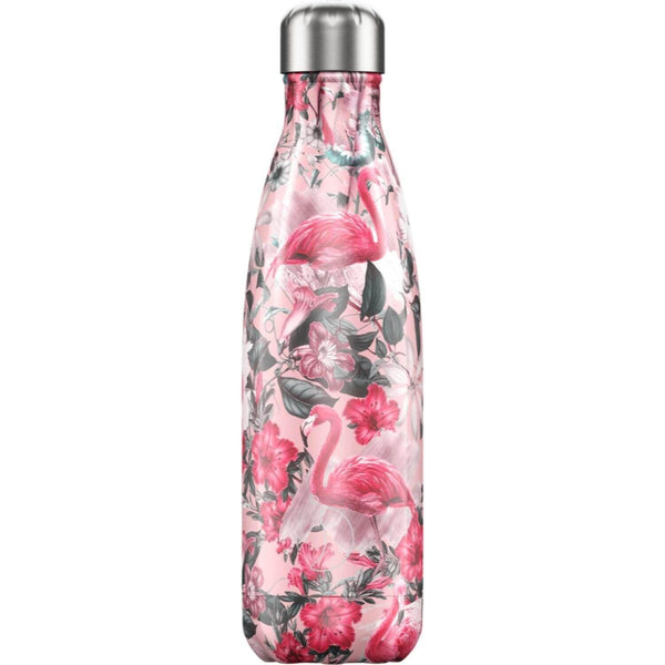 Chilly's 500ml Tropical Drinks Bottle - Flamingo