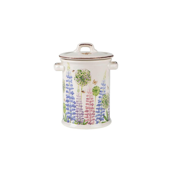 Cottage Garden Butterfly Storage Jar