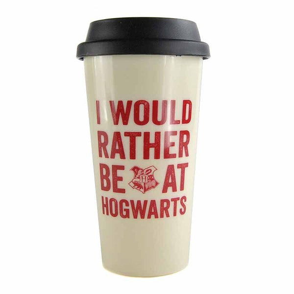 Harry Potter Hogwarts Slogan 450ml Travel Mug