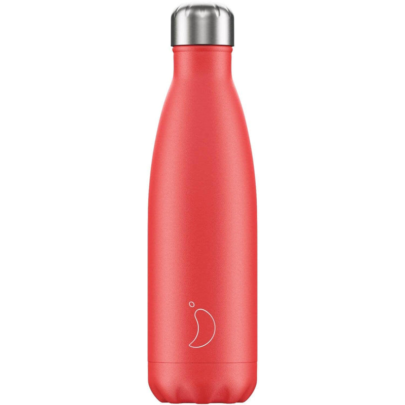 Chilly's 500ml Summer Solids Drinks Bottle - Strawberry