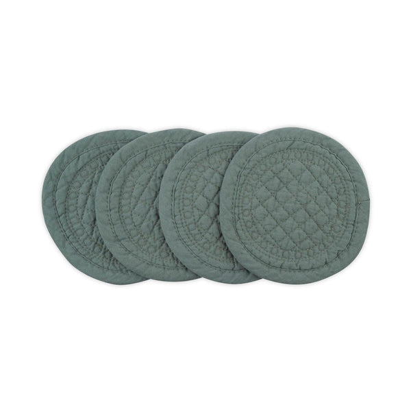 Mary Berry Signature Green Cotton Coaster - Set of 4