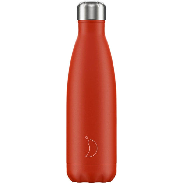 Chilly's 500ml Neon Drinks Bottle - Red