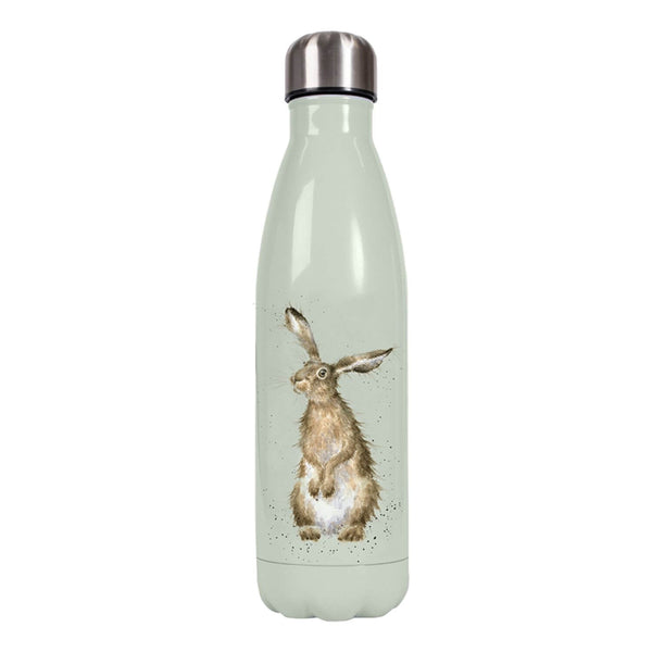 Wrendale Designs 'Hare and the Bee' Hare Drinks Bottle - 500ml
