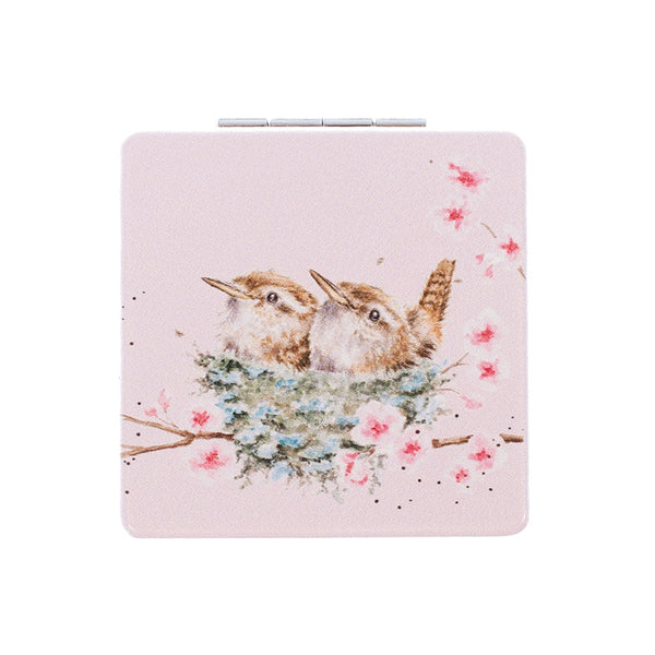 Wrendale Designs Home Sweet Home Compact Mirror - Wren