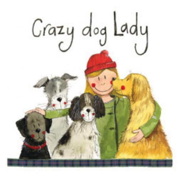 Alex Clark Coaster - Crazy Dog Lady