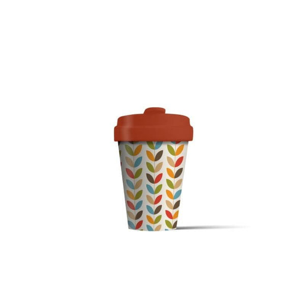 BambooCup 'Bright Leaves' Travel Mug - 400ml
