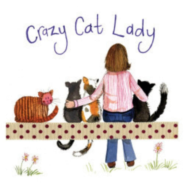 Alex Clark Coaster - Crazy Cat Lady