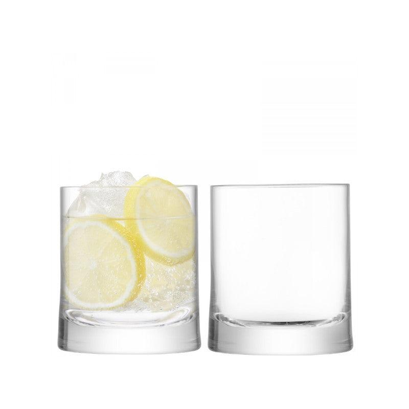 LSA GIN 310ml Glass Tumbler Glasses Set of 2
