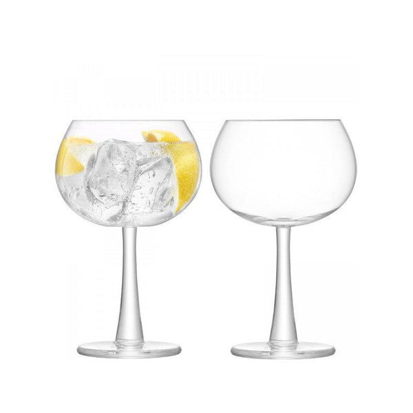 LSA Gin Balloon Glass Set - Clear