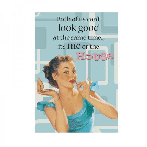 Funny Card 'Both of Us Can't Look Good'