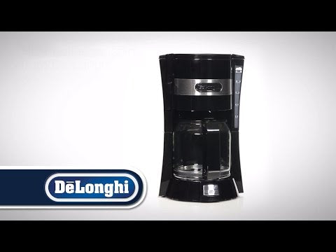 De'Longhi ICM14011.BK Active Line Drip Filter Coffee Maker - Black