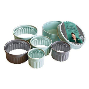 Jamie Oliver 5 Piece Fluted Cookie Cutters