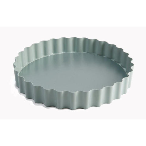 Jamie Oliver 25cm Round Non-Stick Loose Base Fluted Tart Tin