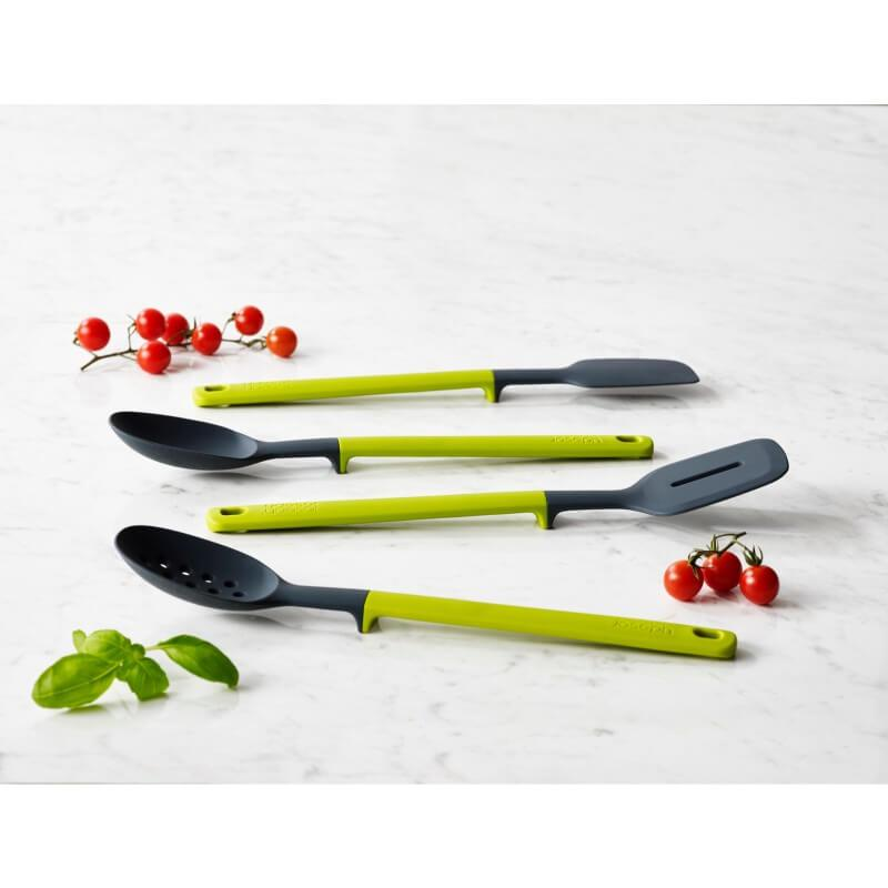 Joseph Joseph Elevate Silicone Slotted Spoon - Green