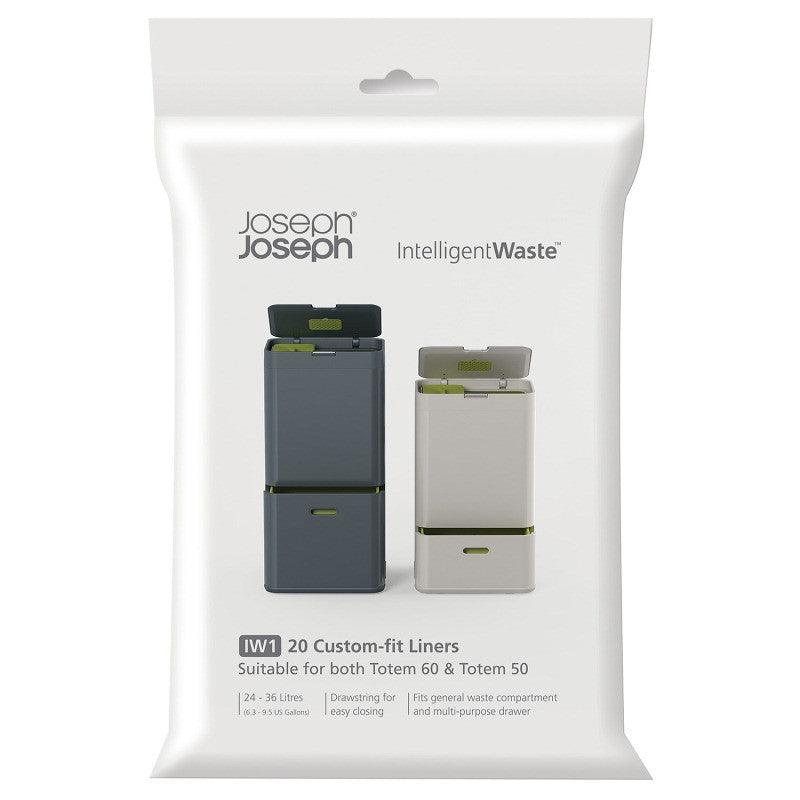 Joseph Joseph 24 - 36 Litre General 20 Pack Waste Liners