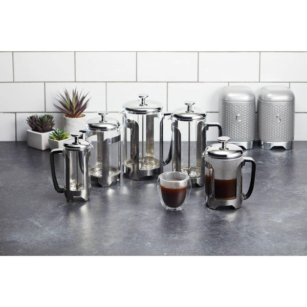 Le'Xpress Stainless Steel Cafetiere - 3 Cup