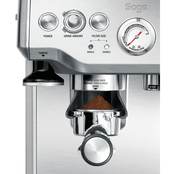 Sage Barista Express BES875 Bean-to-Cup Coffee Machine - Silver