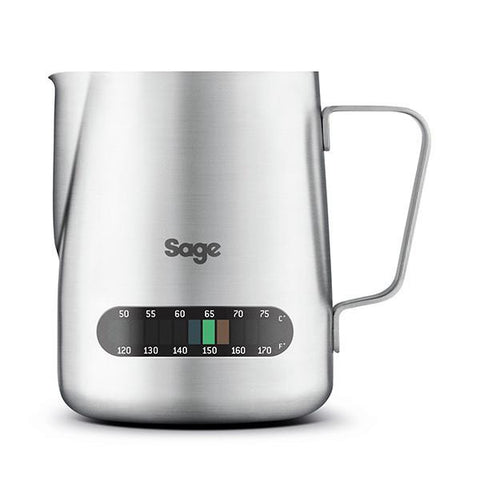 Sage by Heston Blumenthal Temperature Control Stainless Steel Milk Jug