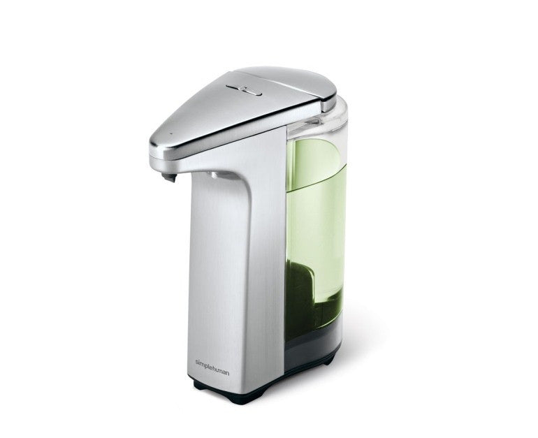 Simplehuman 237ml Compact Sensor Brushed Nickel Soap Pump