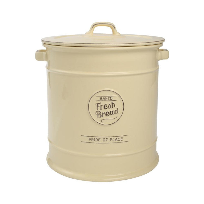 T&G Pride of Place Vintage Cream Bread Crock