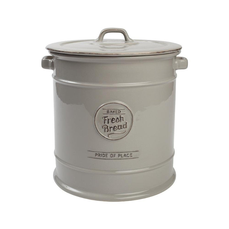 T&G Pride of Place Vintage Grey Bread Crock