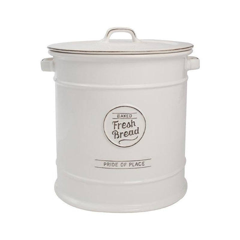 T&G Pride of Place Vintage White Bread Crock