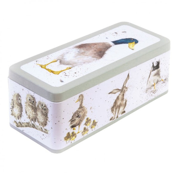 Wrendale Illustrated Duck Cracker Storage Tin