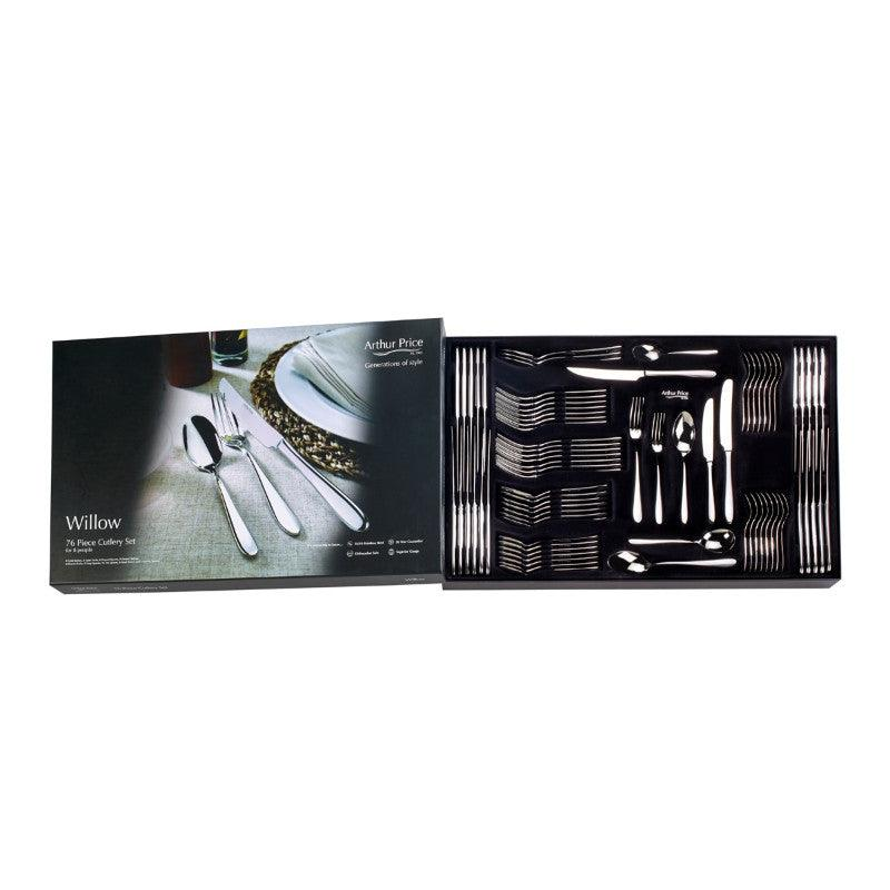 Arthur Price Willow 76 Piece Cutlery Set
