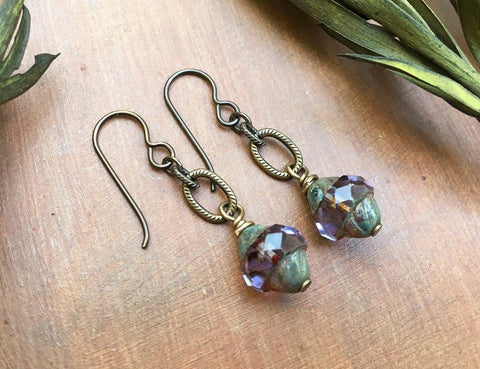 Lantern Drop Earrings