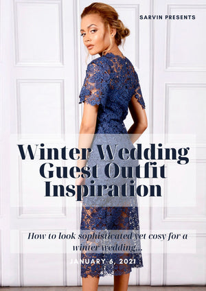 Winter Wedding Guest Outfit Inspiration