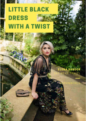 Eat Wear Travel blogger Elena Sandor reviews our Natalie dress