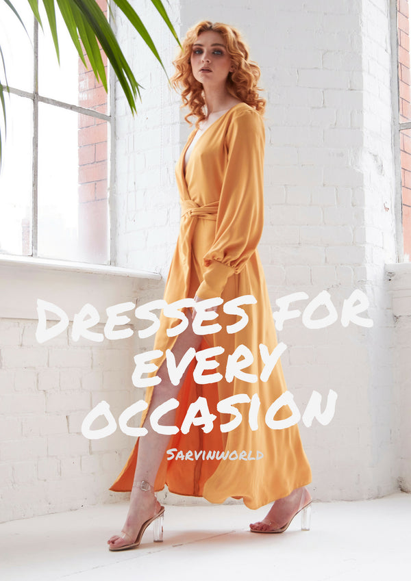 f449a2c9037 Dresses for every occasion - Sarvin
