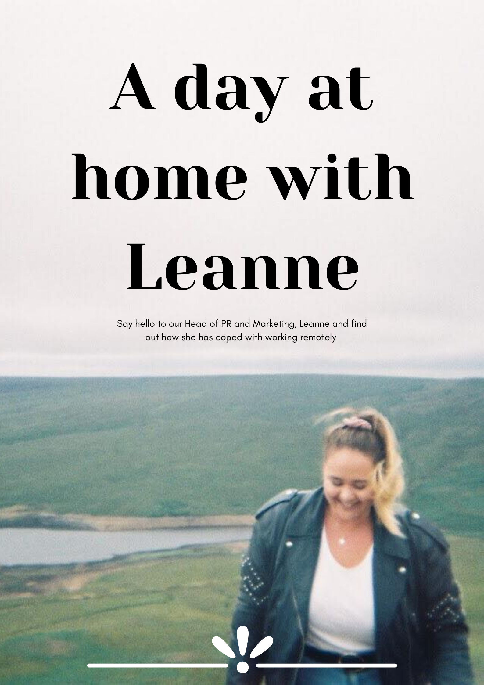 A day at home with Leanne🌷