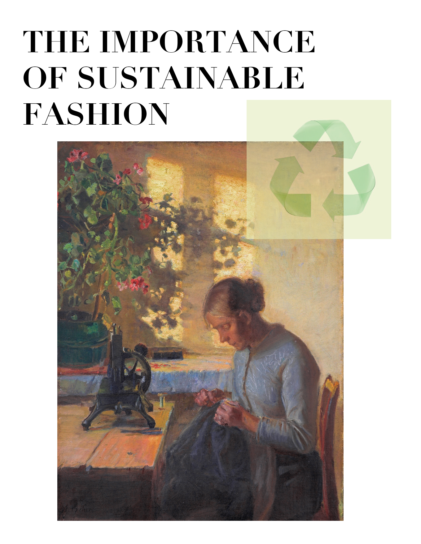 The importance of sustainable fashion