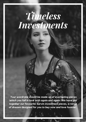 Timeless Investment Pieces - By Sarvin