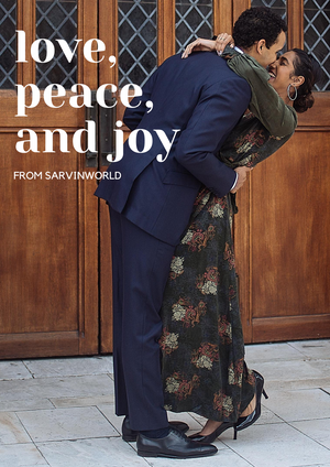 Love, Peace and Joy...from SarvinWorld