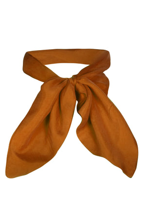 Sarvin ESSENTIALS - Cleo –  Silk Touch Neck Scarf