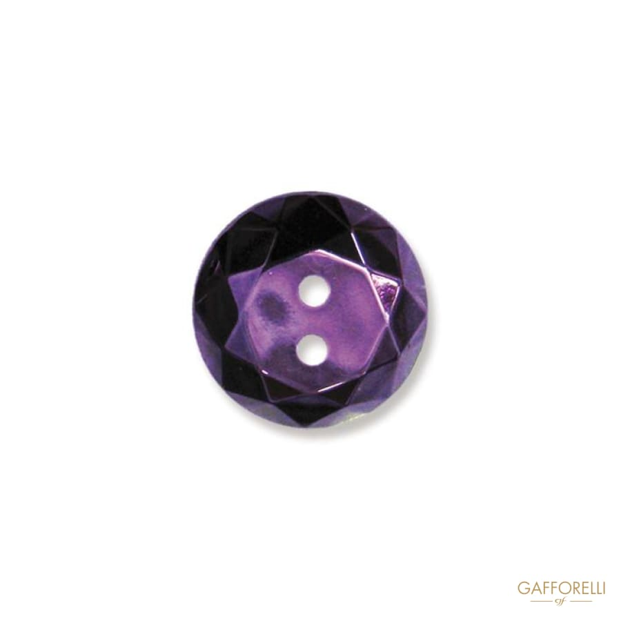 2 Holes Buttons Mother of Pearl Effect - 6835 Gafforelli Srl