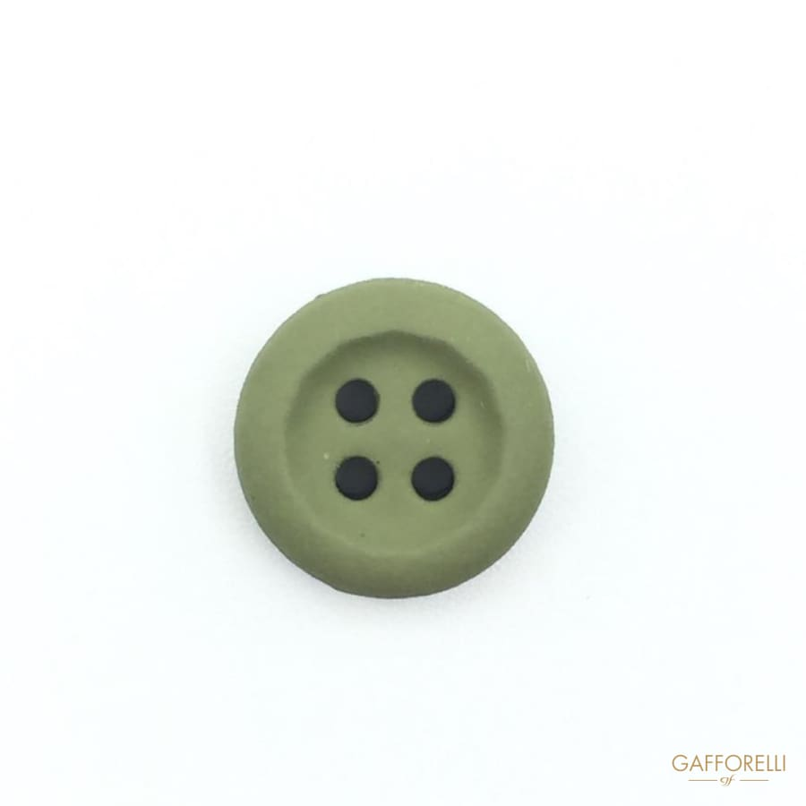 4 Holes Buttons Rubber Effect - 6811 go Gafforelli Srl